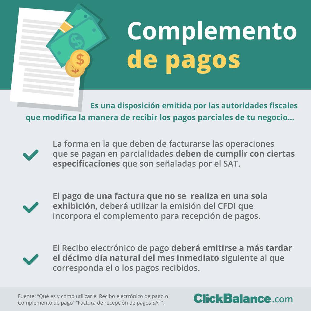 950ff366335e Cómo adoptar el complemento de pago en tu empresa
